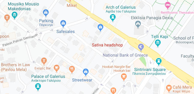 Google Maps Sativa HS